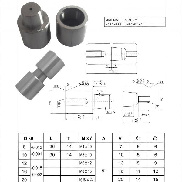 TAPER LOCK PINS